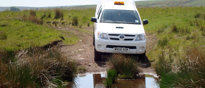 Professional off road driver training course