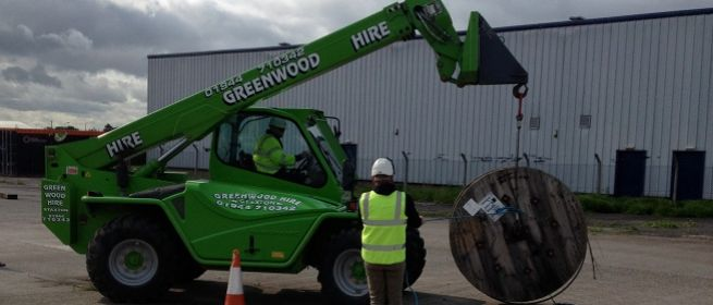 telehandler suspended loads training