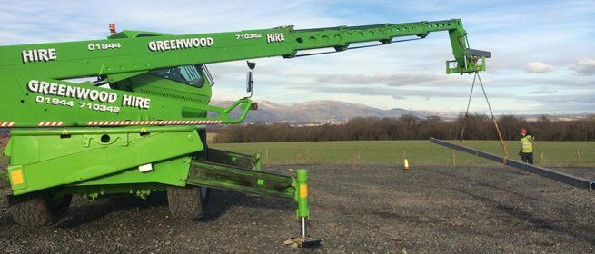 telescopic handler training Scotland
