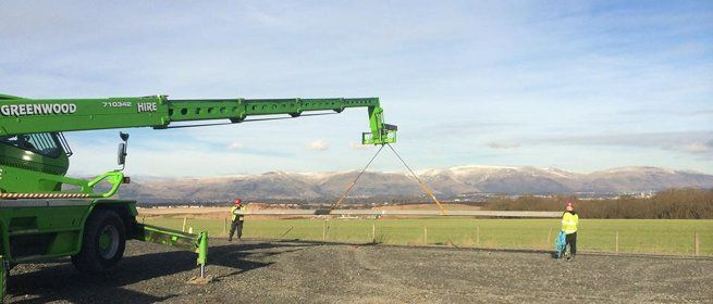 telehandler training Scotland