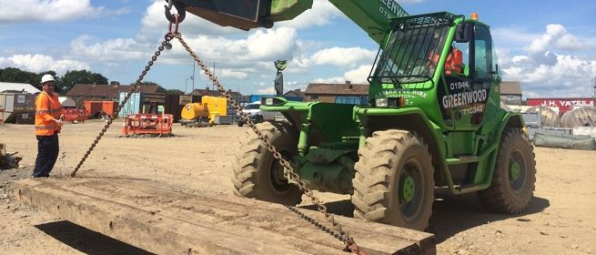 telehandler training Ayrshire Scotland