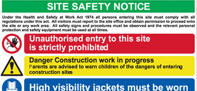 Site Safety Training